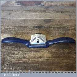 Vintage Record No: 051 Flat Soled Metal Spokeshave - Fully Refurbished