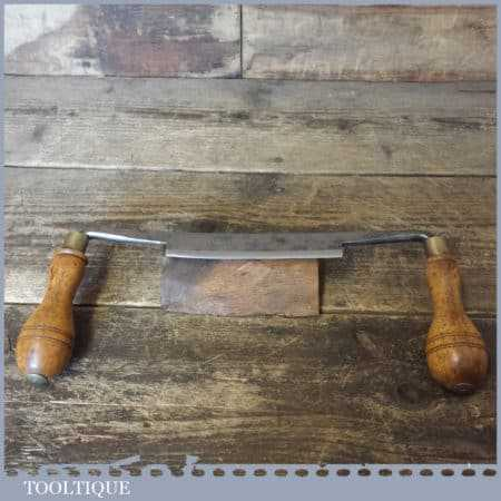 """Vintage Gentleman's I Sorby Drawknife 5"""" Cutting Edge - Good Condition"""