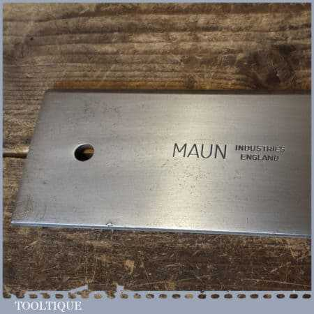 "Vintage Maun Industries 36""engineers steel straight edge in good used condition."