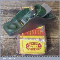 Vintage Boxed Junior No: 12 Thumb Plane - Refurbished For Use