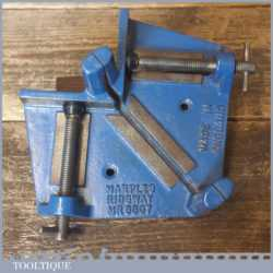 Vintage Marples Ridgeway No: 6807 Mitre Saw Cutting Vice Square Guide Clamp