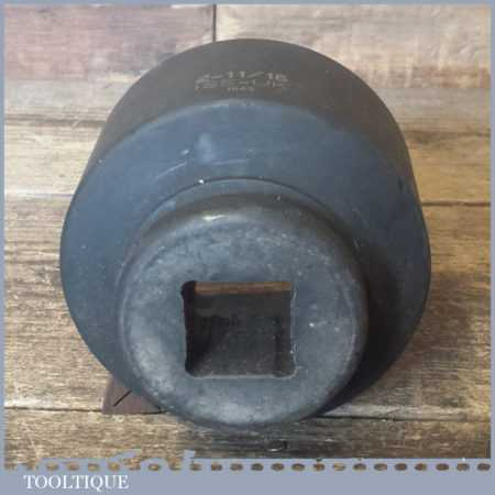 "2 11/16"" ISS-UK No: 1656 1"" Square Drive Impact Regular Socket - Unused"