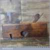 "Antique Beechwood 11/16"" Dado Plane - Good Condition"