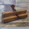 Vintage John Moseley & Son Beechwood Beading Plane - Good Condition