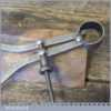 """Vintage Athol 7"""" Spring Caliper Outside Dividers - Good Condition"""
