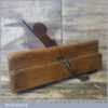 """Vintage Unnamed 1/8"""" Tongue Beech Moulding Plane - Good Condition"""