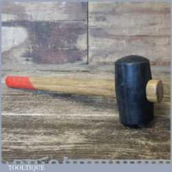 Vintage Panel Beaters Rubber Mallet Wooden Handle - Good Condition
