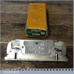 Vintage Boxed Stanley England No: 79 Side Rebate Plane - Good Condition