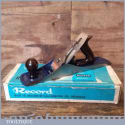 Near Mint Vintage Boxed Record No: 05 ½ Fore Plane - Fully Refurbished