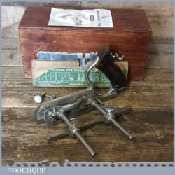 Vintage Boxed Stanley No: 50 Combination Plough Plane - Fully Refurbished