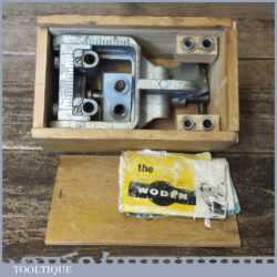 Vintage Woden X190 Dowelling Jig Original Box - Good Condition