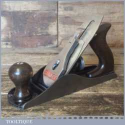Vintage Stanley No: 4C Smoothing Plane Corrugated Sole - Fully Refurbished