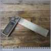 "Vintage Rabone Carpenters 6"" Cast Steel Calibrated Try Square"
