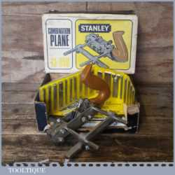 Vintage Boxed Stanley N0: 13-050 Combination Plough Plane - Fully Refurbished