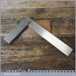 """Vintage 6 ¼"""" Moore & Wright No: 400 Engineers Steel Square - Good Condition."""
