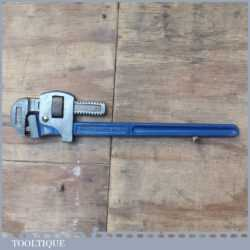 """Vintage Record 18"""" Stilson Pipe Wrench In Good Condition"""