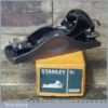 Vintage Boxed Stanley No: 9 ½ Adjustable Throat Block Plane - Fully Refurbished