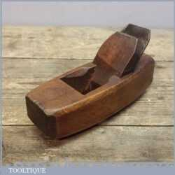 """Vintage 6"""" Pattern Makers Hollowing Out Compassed Sole Plane"""