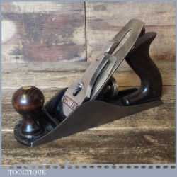 Vintage Stanley No: 4 Smoothing Plane Made In Australia - Fully Refurbished