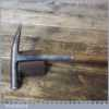 Antique Upholsterer's Strapped Tack Hammer - Good Condition