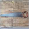 Unusual Vintage Double Edged Hand Saw - Fully Refurbished Sharpened