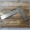 "Vintage GTL Carpenters 6"" Cast Steel Try Square - Good Condition"