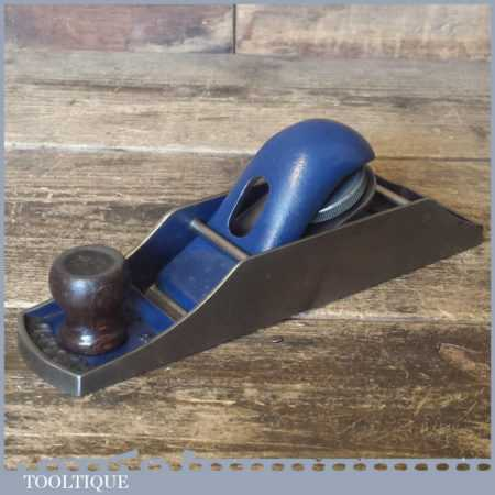 Vintage Record No: 0130 Duplex Block Plane - Fully Refurbished
