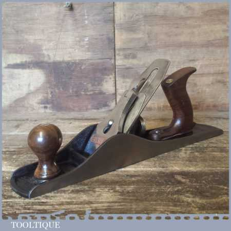Vintage England Stanley No: 5 Jack Plane - Fully Refurbished Ready To Use