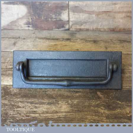 Vintage Reclaimed Kenrick No: 57 Wrought Iron Letterbox Door Knocker