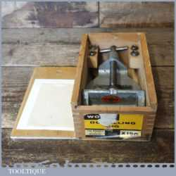 Vintage Woden X190 Dowelling Jig In Original Box - Good Condition