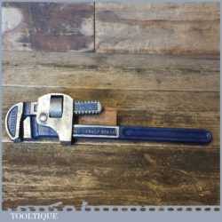 "Vintage Record 14"" Stilson Pipe Wrench In Good Condition"