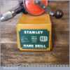 Vintage Boxed Stanley No: 803 Egg Beater Double Pinion Hand Drill