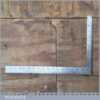 """Vintage I & D Smallwood 18"""" x 12"""" Calibrated Cast Steel Square - Good Condition"""