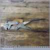 Antique WW1 Wynn & Timmins 3 Jaw Barbed Wire Cutters Broad Arrow Dated 1912