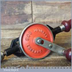 Vintage Stanley No: 803 Egg Beater Double Pinion Hand Drill - Good Condition