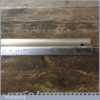 """Vintage Maun 12"""" Imperial Safety Ruler - Good Condition"""