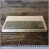 "Vintage 8"" x 2"" Natural Washita Oil Stone - New Beechwood Box"