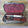 """Vintage No: 436 Starrett USA 0 – 1"""" Imperial Micrometer - Good Condition"""