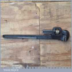 """Vintage Walco USA Stilson Style Heavy Duty 24"""" Pipe Wrench - Good Condition"""