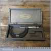 """Vintage Boxed No: 966 Moore & Wright 2""""-3"""" Micrometer - Good Condition"""