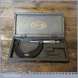 "Vintage Boxed No: 966 Moore & Wright 2""-3"" Micrometer - Good Condition"