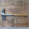 Vintage W Gilpin Strapped Fireman's Axe - Broad Arrow 1957