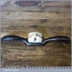 Vintage Stanley No: 51 Flat Soled Metal Spokeshave - Good Condition