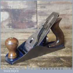 Vintage Record No: 04 SS Smoothing Plane 1932-39 - Fully Refurbished