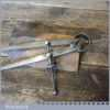 """Vintage Moore & Wright 7"""" Steel Spring Dividers - Good Condition"""