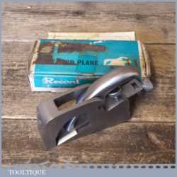 Vintage Boxed Record No: 077 Bull Nose Plane - Fully Refurbished