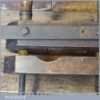 Antique Wheelwright's Oak Fork Shaft Rounding Tool - Good Condition
