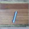 """Vintage Beechwood 8 ¼"""" Skew Mouthed Smoothing Plane Sorby Iron"""
