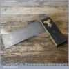 """Vintage Carpenters 6"""" Ebony Brass Try Square - Good Condition"""