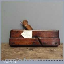 Antique William Madox 18th Century Boxed Side Bead Moulding Plane